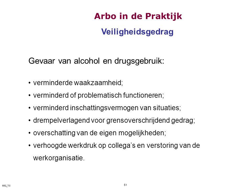 Gevaar van alcohol en drugsgebruik: