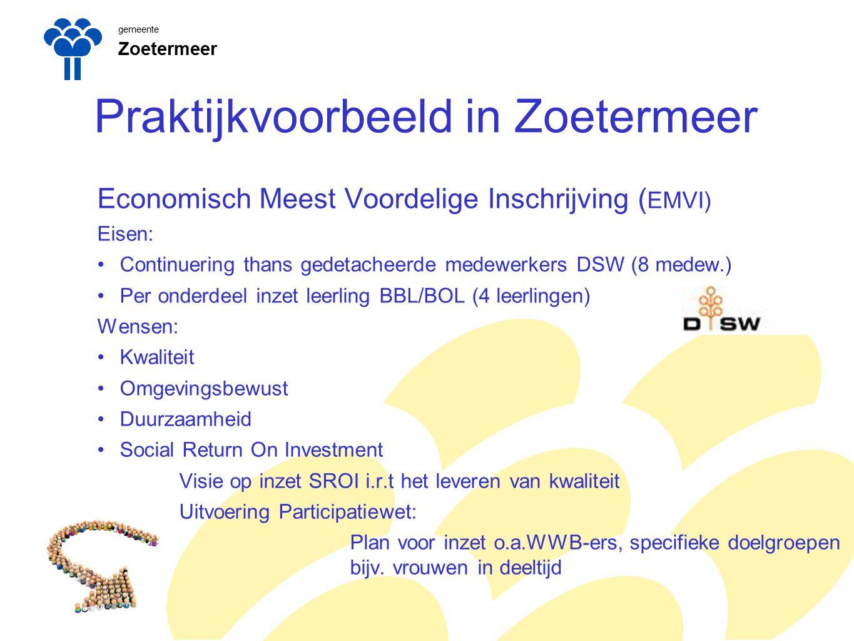 Praktijkvoorbeeld in Zoetermeer
