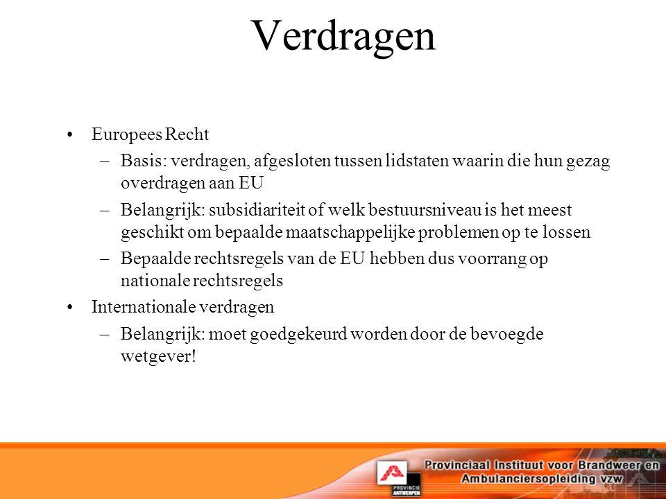 Verdragen Europees Recht