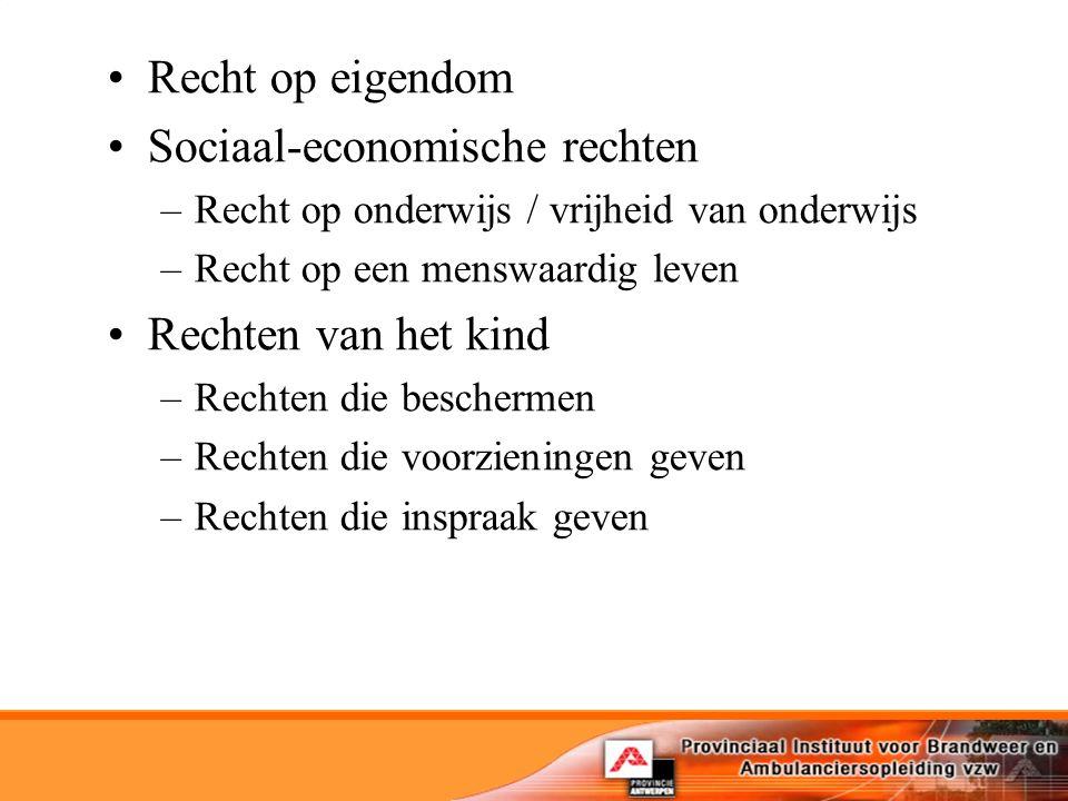 Sociaal-economische rechten