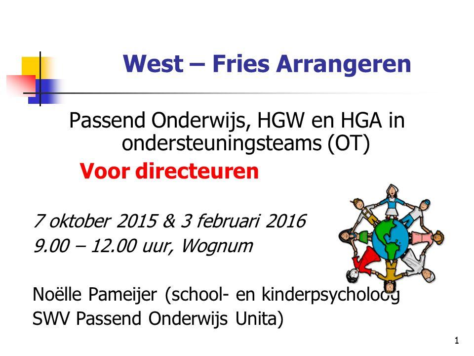 West – Fries Arrangeren