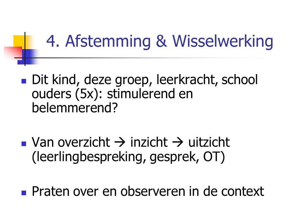 4. Afstemming & Wisselwerking