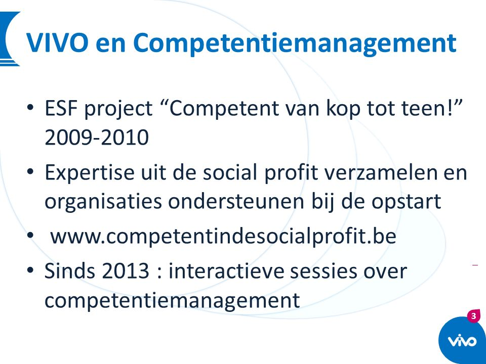 VIVO en Competentiemanagement