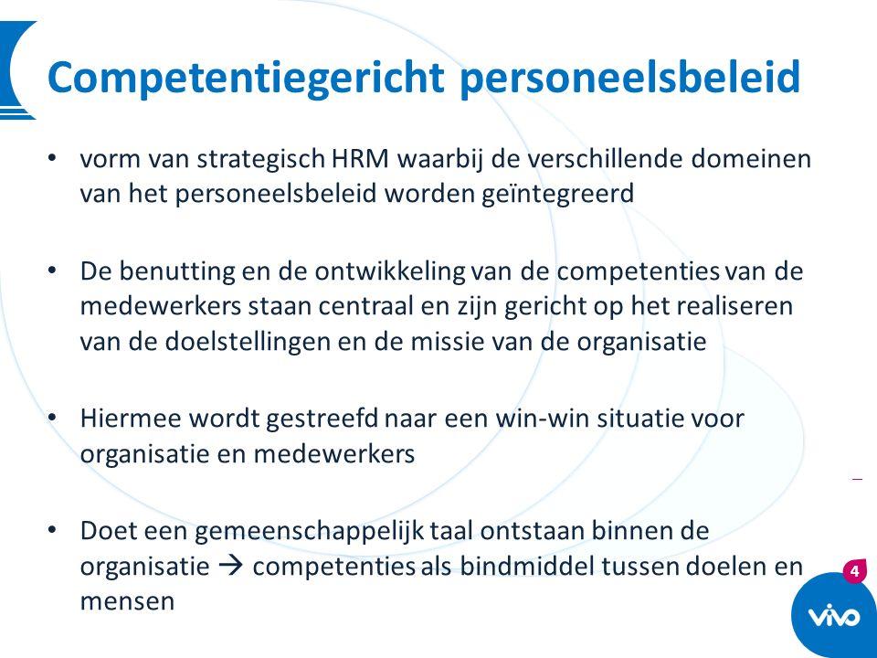 Competentiegericht personeelsbeleid