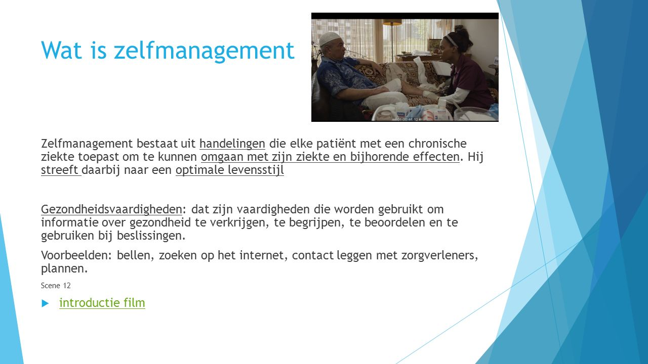 Wat is zelfmanagement