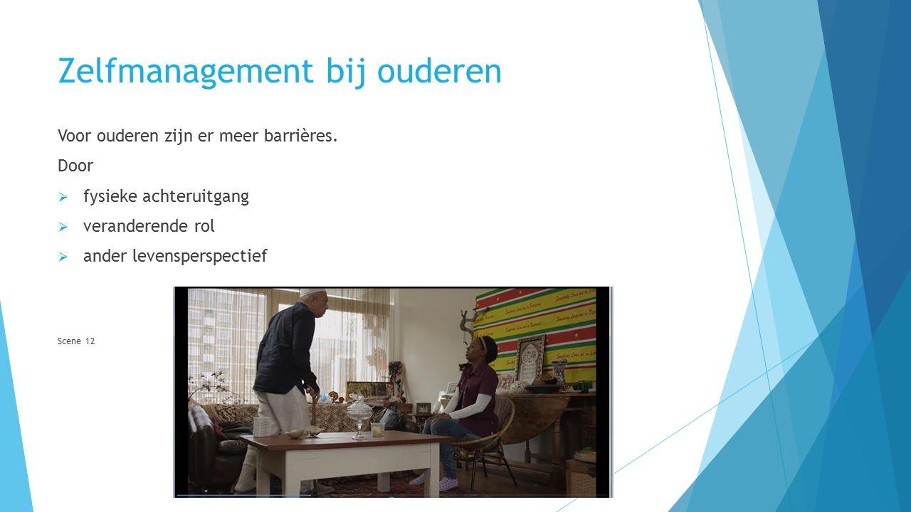 Zelfmanagement bij ouderen