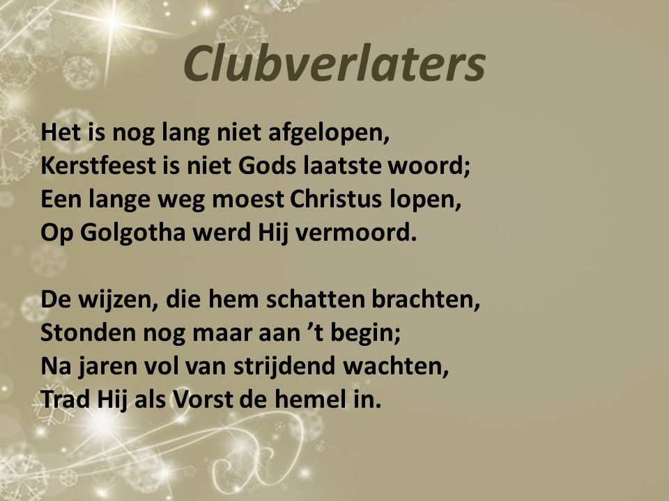 Clubverlaters