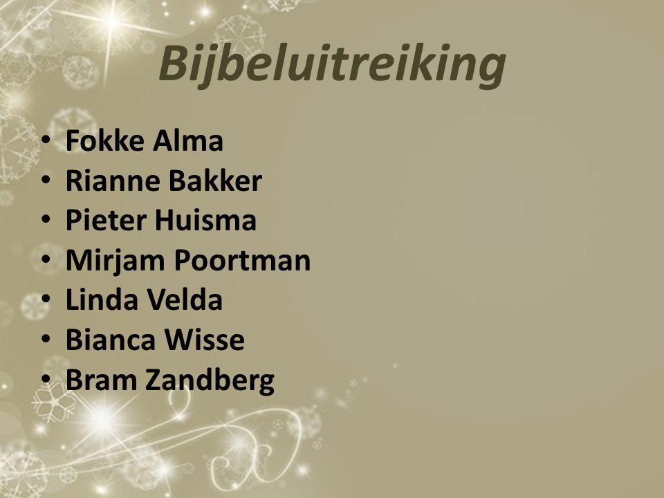 Bijbeluitreiking Fokke Alma Rianne Bakker Pieter Huisma