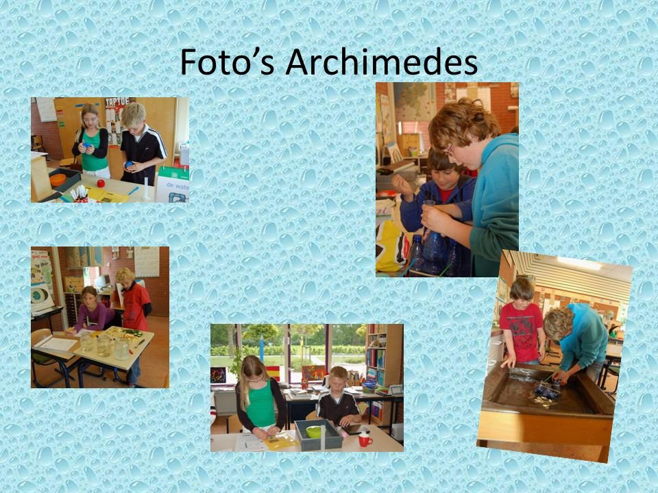 Foto's Archimedes