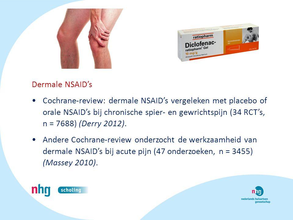 Dermale NSAID's