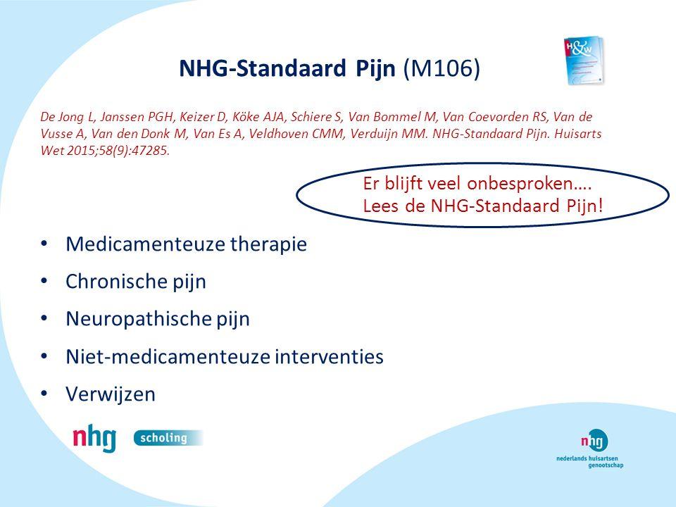 NHG-Standaard Pijn (M106)