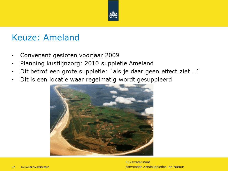 Keuze: Ameland Convenant gesloten voorjaar 2009