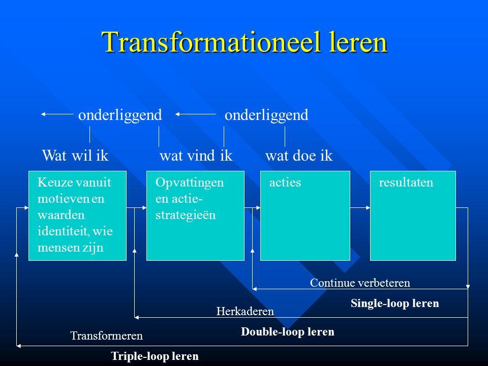 Transformationeel leren