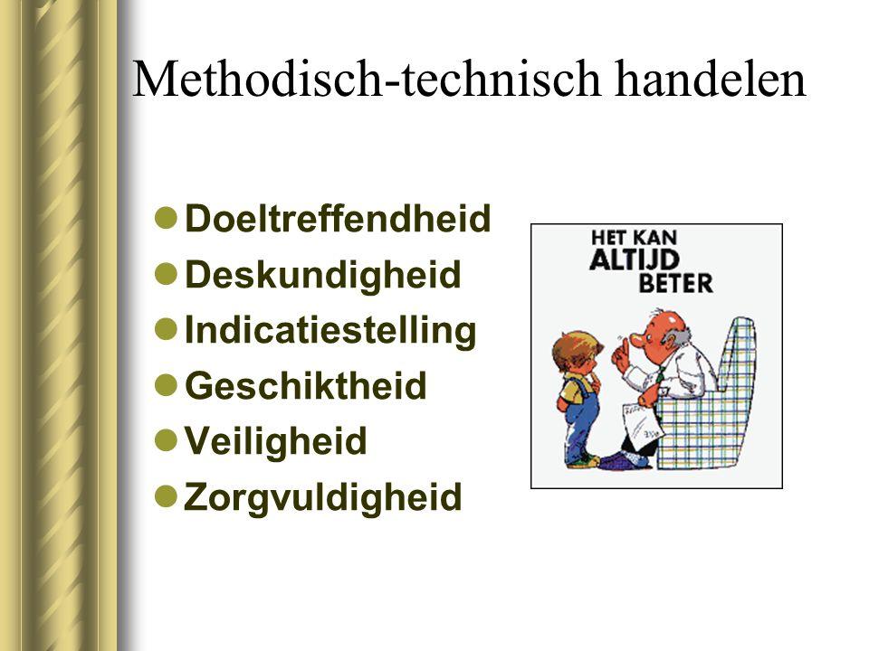 Methodisch-technisch handelen