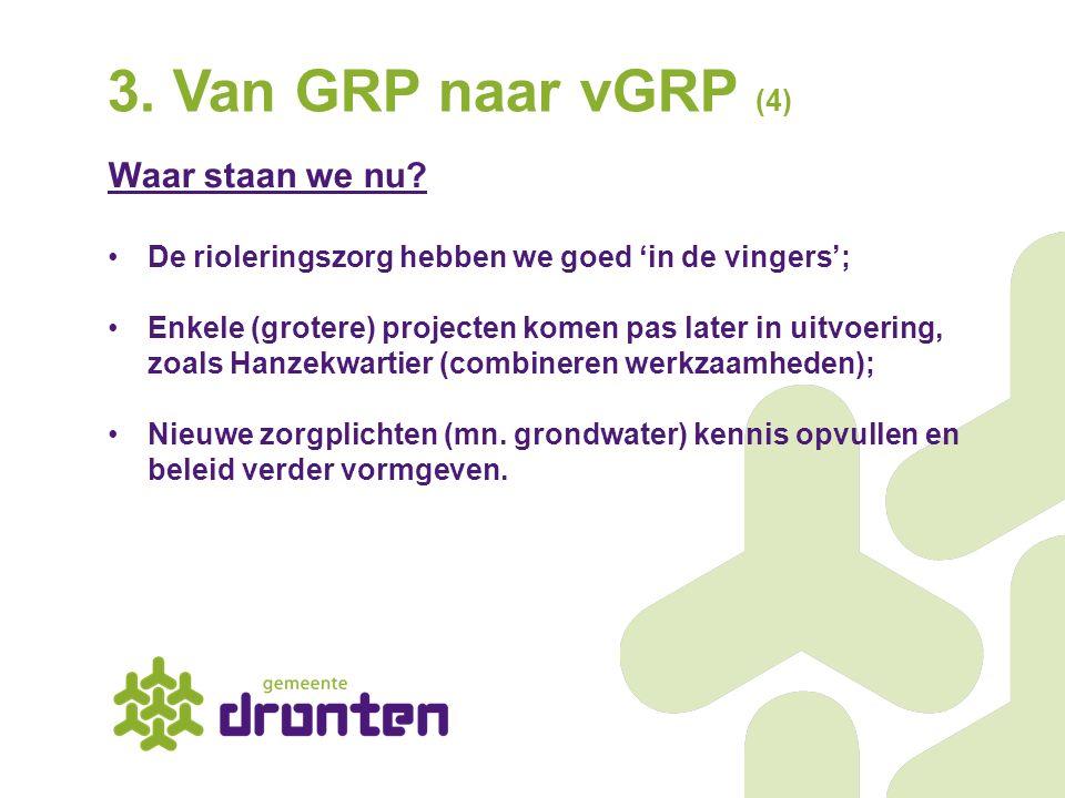 3. Van GRP naar vGRP (4) Waar staan we nu