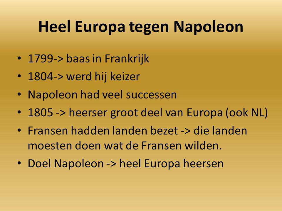 Heel Europa tegen Napoleon