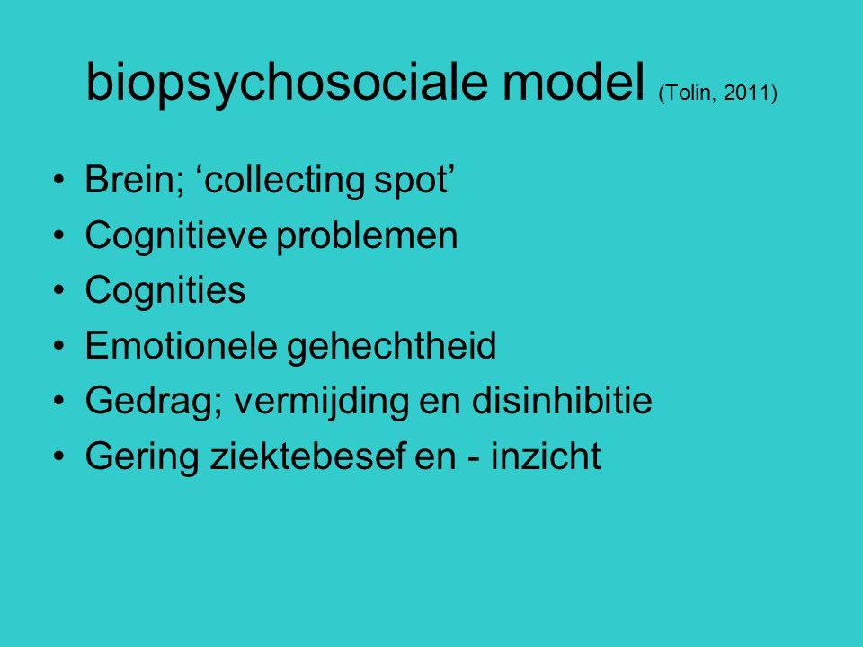 biopsychosociale model (Tolin, 2011)