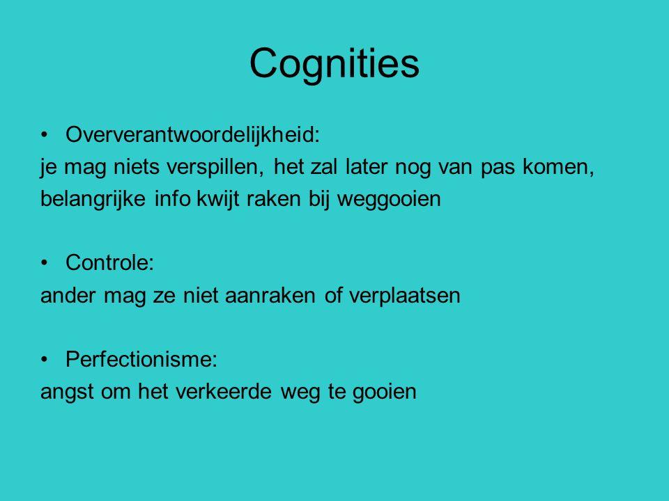 Cognities Oververantwoordelijkheid: