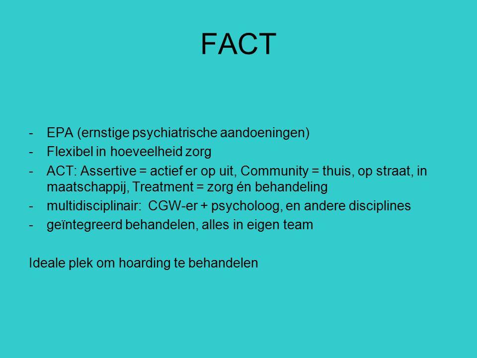 FACT EPA (ernstige psychiatrische aandoeningen)