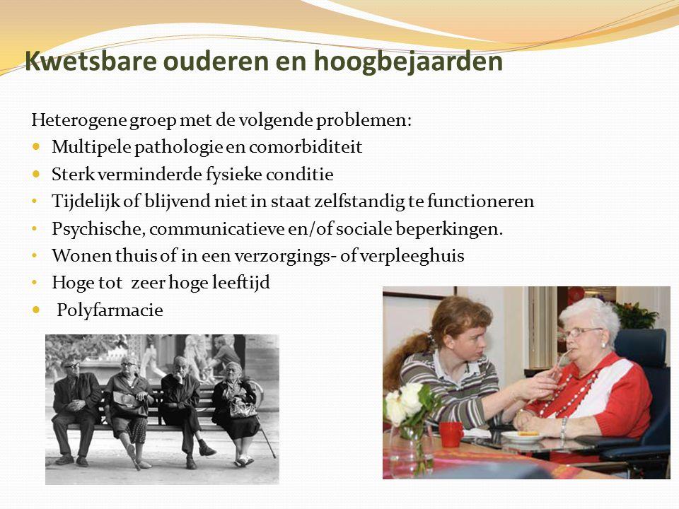 Kwetsbare ouderen en hoogbejaarden