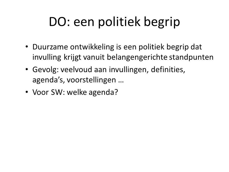 DO: een politiek begrip