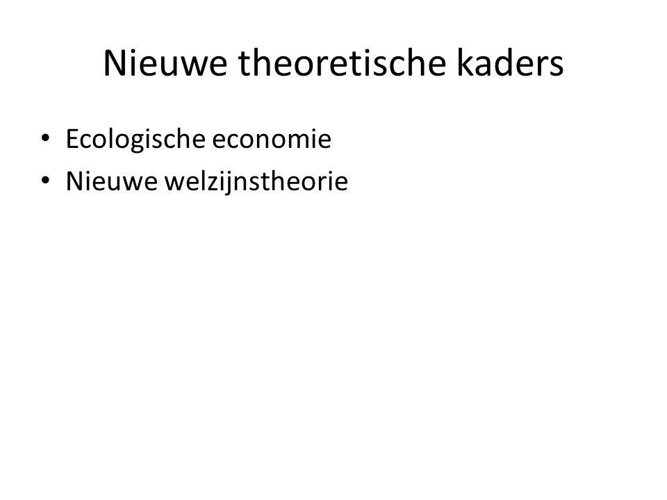 Nieuwe theoretische kaders
