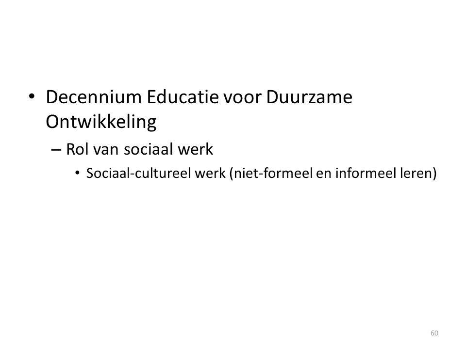 Decennium Educatie voor Duurzame Ontwikkeling