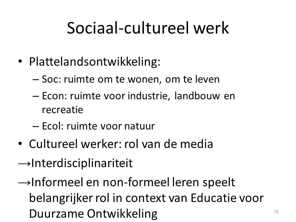 Sociaal-cultureel werk