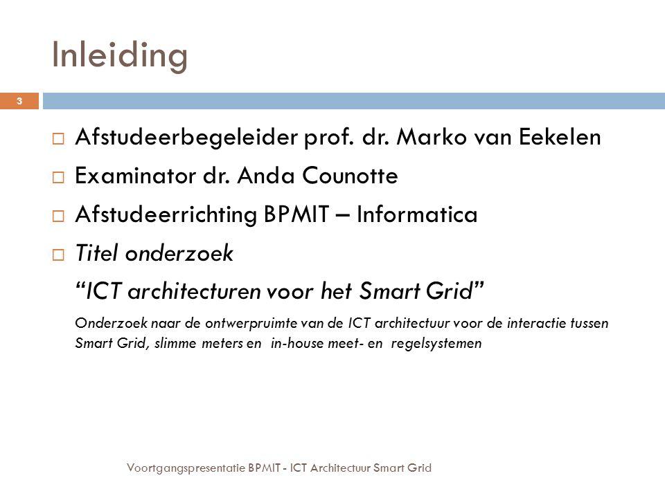 Inleiding Afstudeerbegeleider prof. dr. Marko van Eekelen