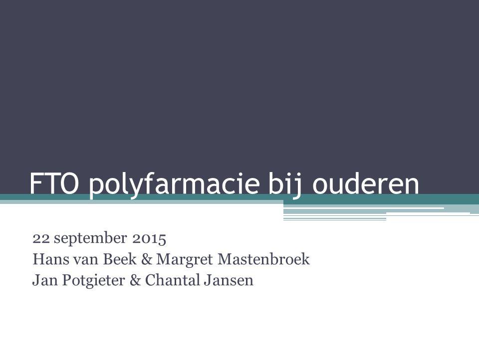 FTO polyfarmacie bij ouderen