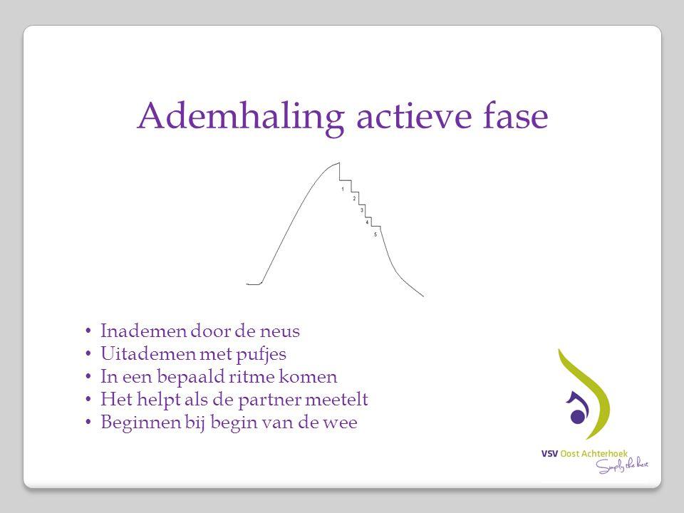 Ademhaling actieve fase