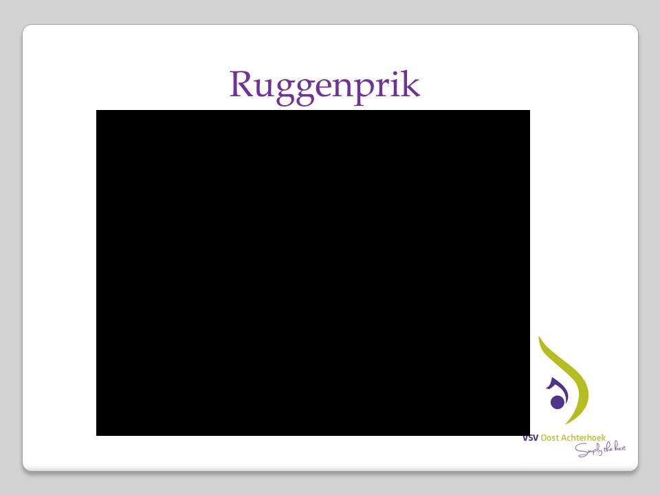 Ruggenprik Klin vke/gyn