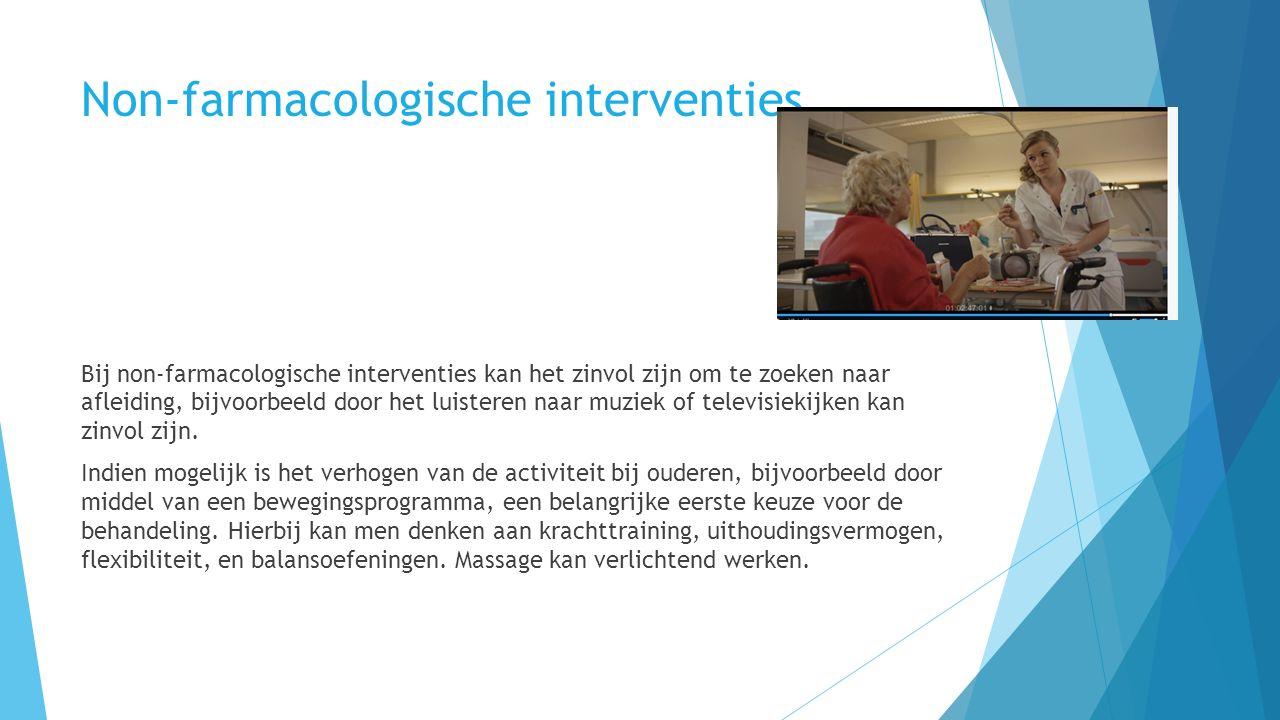 Non-farmacologische interventies