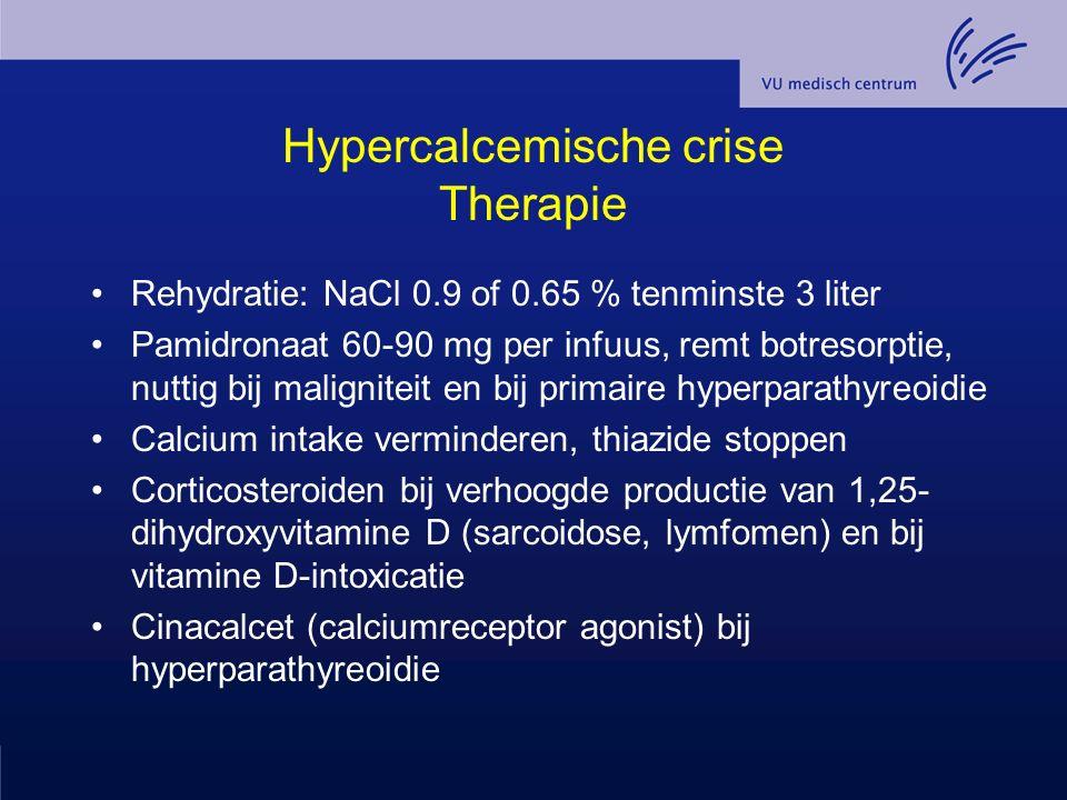 Hypercalcemische crise Therapie
