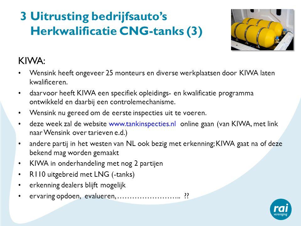 3 Uitrusting bedrijfsauto's Herkwalificatie CNG-tanks (3)