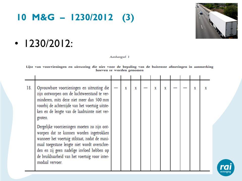 10 M&G – 1230/2012 (3) 1230/2012: