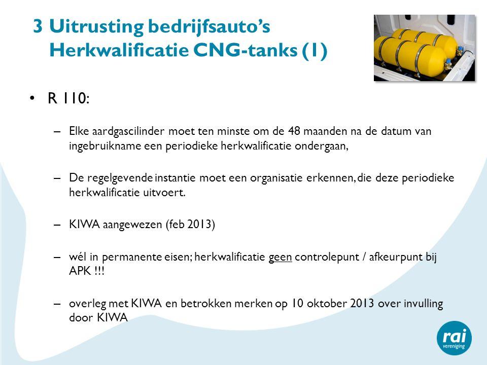 3 Uitrusting bedrijfsauto's Herkwalificatie CNG-tanks (1)