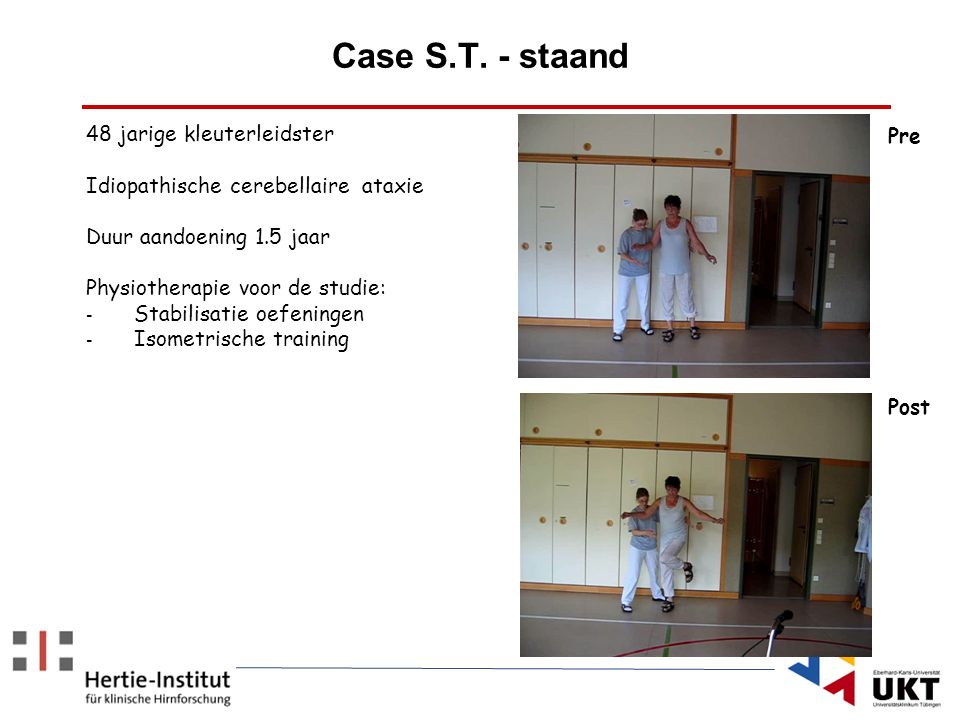 Case S.T. - staand 48 jarige kleuterleidster Pre