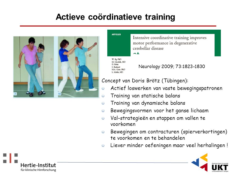 Actieve coördinatieve training