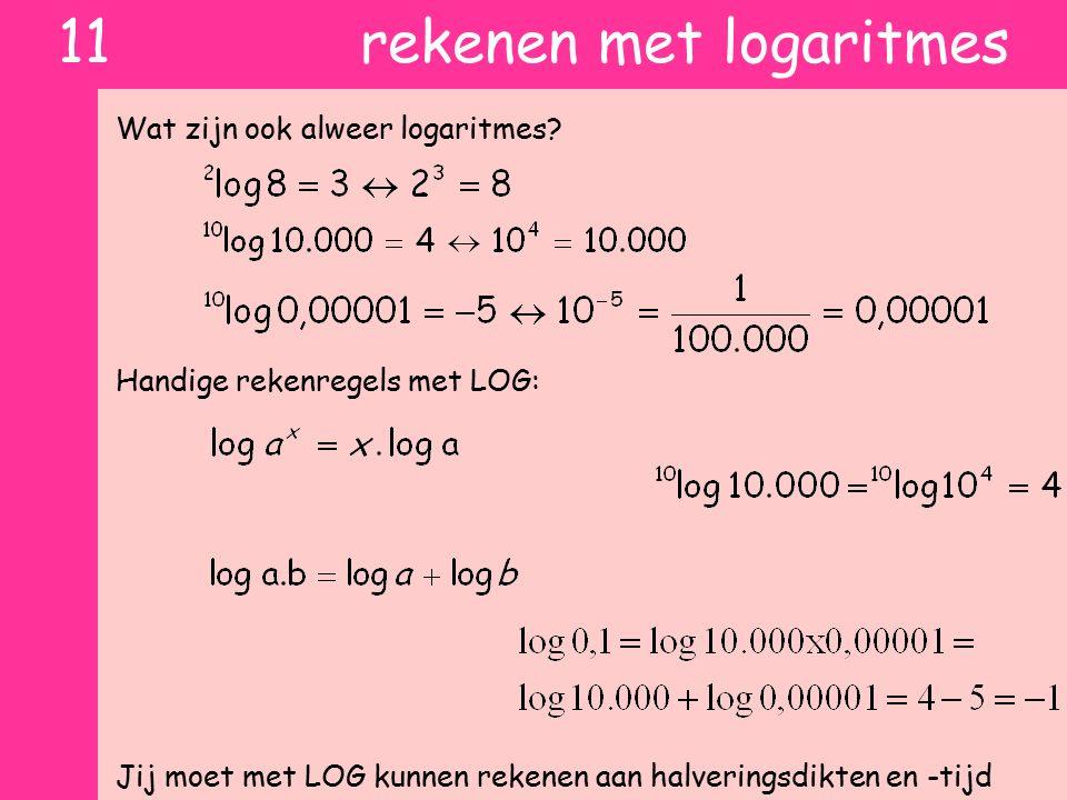 11 rekenen met logaritmes