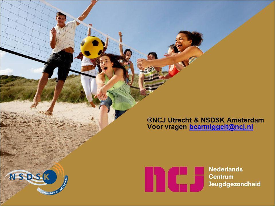 ©NCJ Utrecht & NSDSK Amsterdam