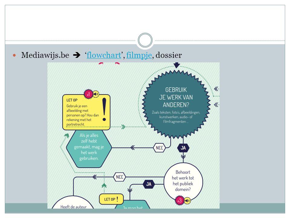 Mediawijs.be  'flowchart', filmpje, dossier
