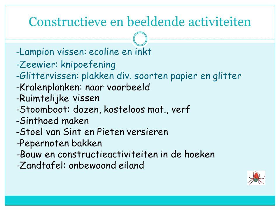 Constructieve en beeldende activiteiten