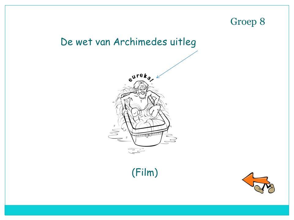 Groep 8 De wet van Archimedes uitleg (Film)