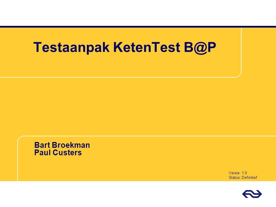 Testaanpak KetenTest B@P