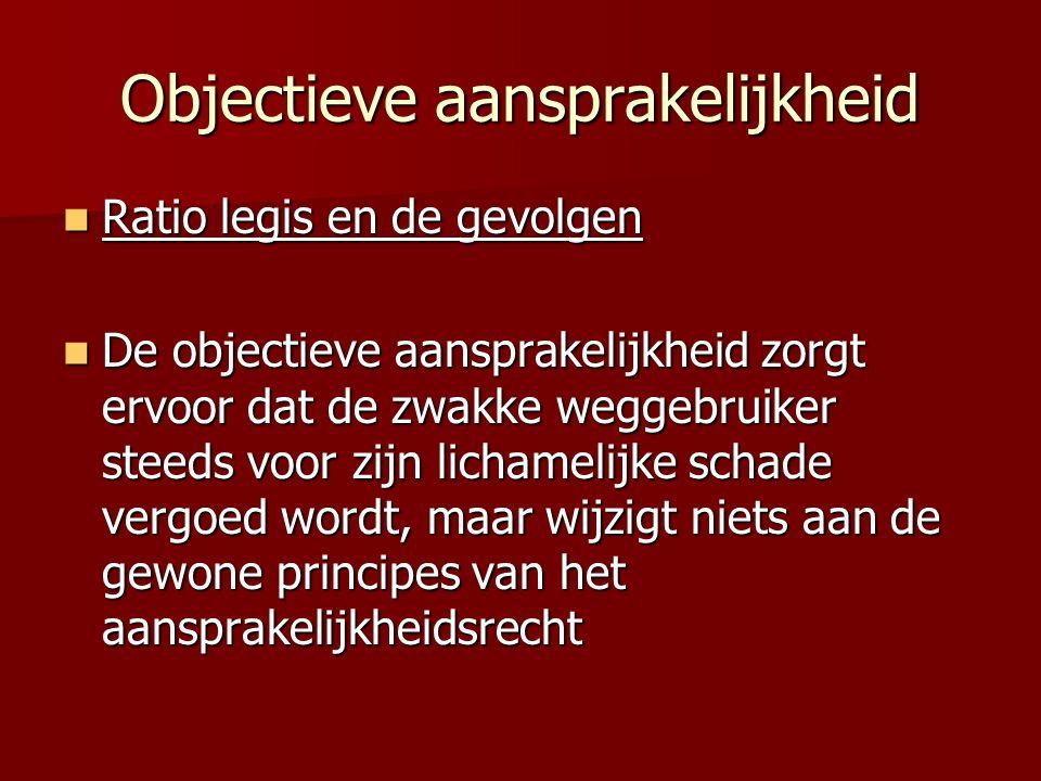 Objectieve aansprakelijkheid