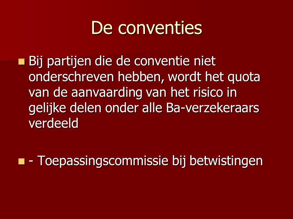 De conventies