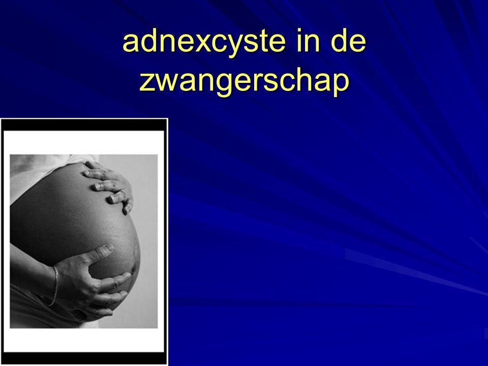 adnexcyste in de zwangerschap