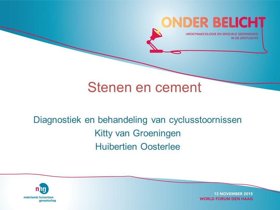 Diagnostiek en behandeling van cyclusstoornissen