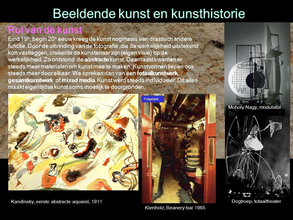 Beeldende kunst en kunsthistorie